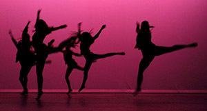 Dance performance at Pima Community College