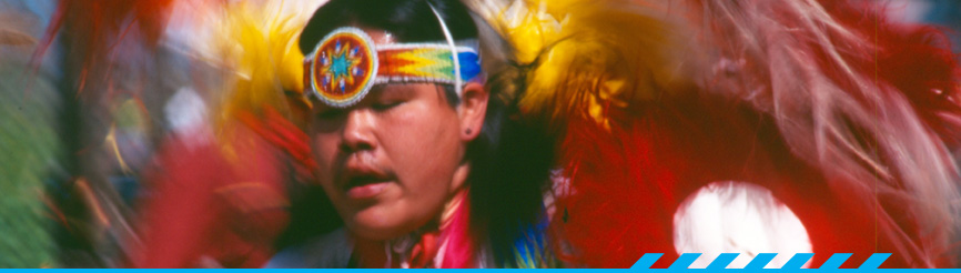Dancer from Wak Pow-Wow